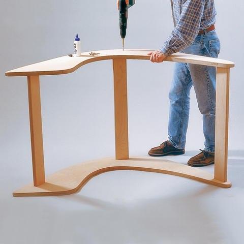 Деревянное кресло-качалка своими руками в сад или веранду