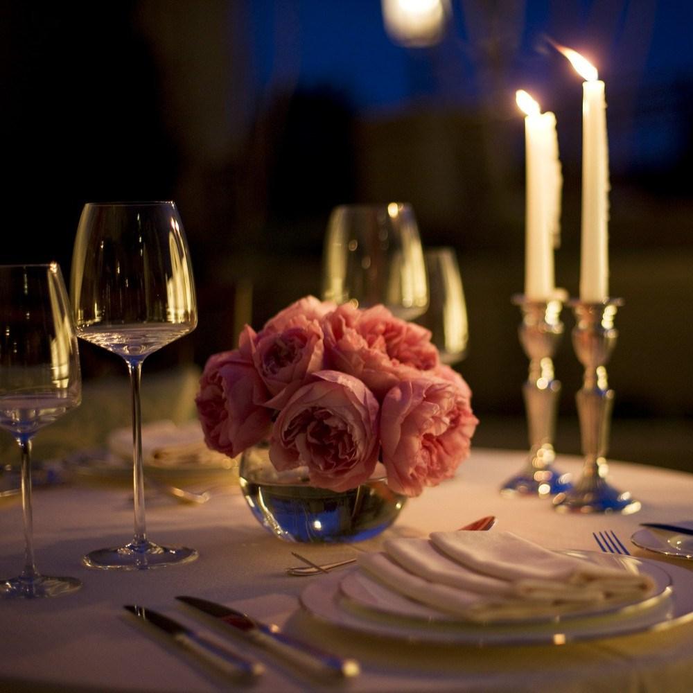 романтичный стол для двоих фото