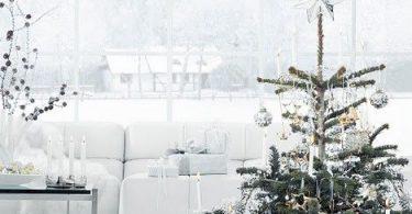 Ослепительные рождественские деревья на случай праздника - концептуальные елки тоже могут быть красивыми