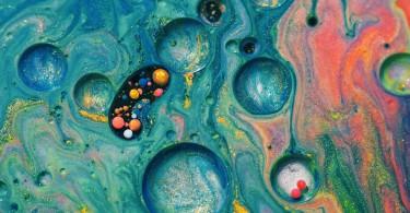 Одиссея от Руслана Хасанова - макро-футаж из чернил, масла и мыльной пены