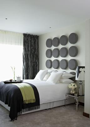Интерьер спальни от Анны Додоновой