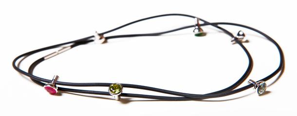 Ожерелье-браслет «Лампочки»