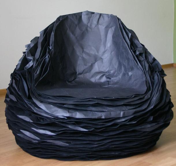 Кресло Black Paper 37