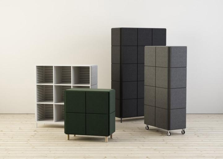 Замечательные системы хранения в виде войлочных блоков