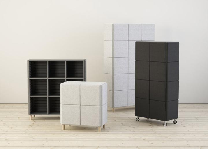 Сногсшибательные системы хранения в виде войлочных блоков