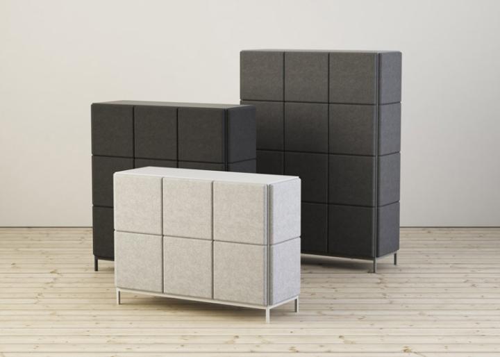 Великолепные системы хранения в виде войлочных блоков