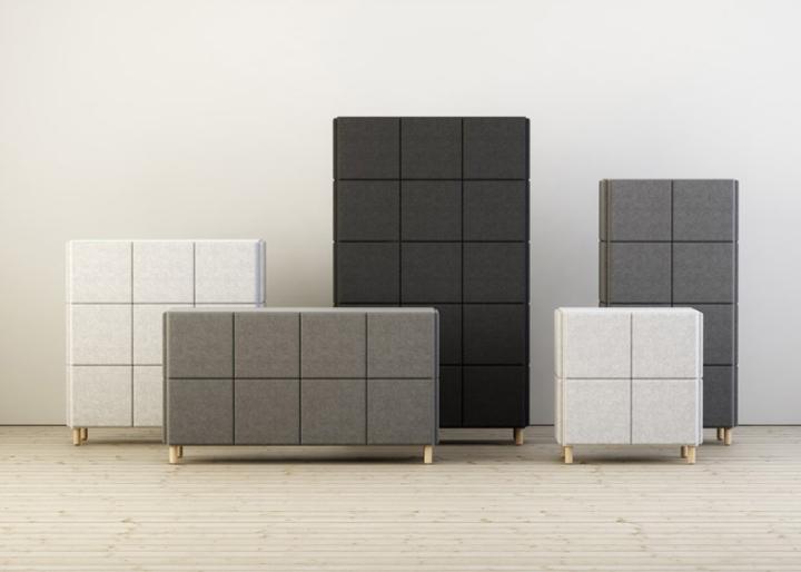 Системы хранения в виде войлочных блоков