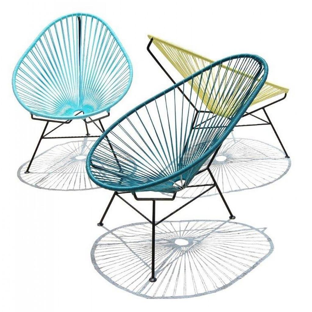 Designer Stuhl Acapulco Idee Einrichtung