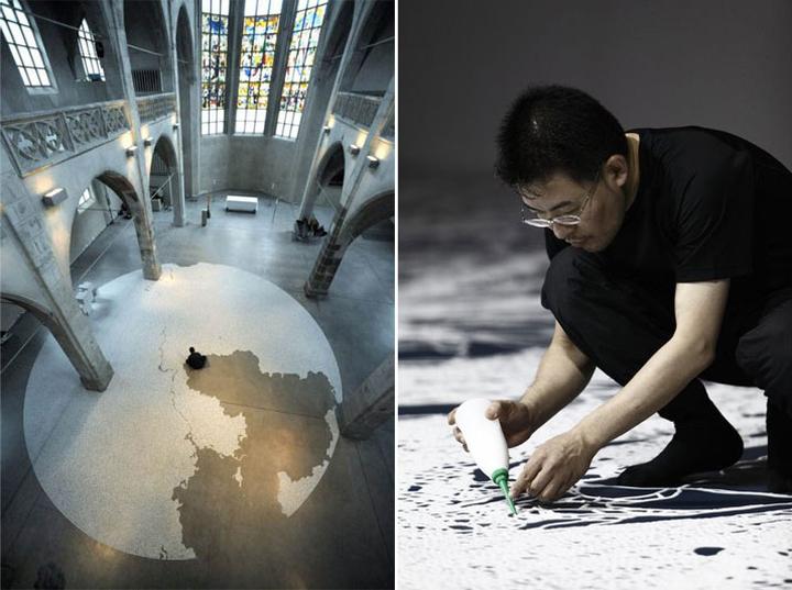 Чудесный Motoi Yamamoto творит из соли