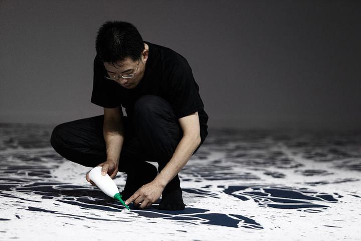 Чудесная техника исполнения картины из соли Motoi Yamamoto