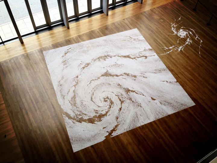 Восхитительная картина из соли Motoi Yamamoto