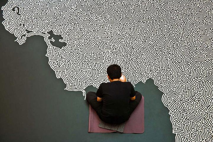 Motoi Yamamoto творит из соли