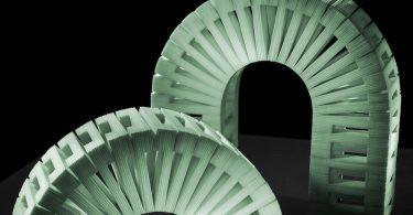 Сэм Каплан: сладкие архитектурные скульптуры из пластинок жевательной резинки