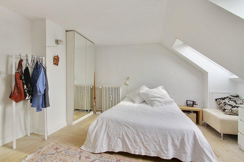 Белоснежная спальня