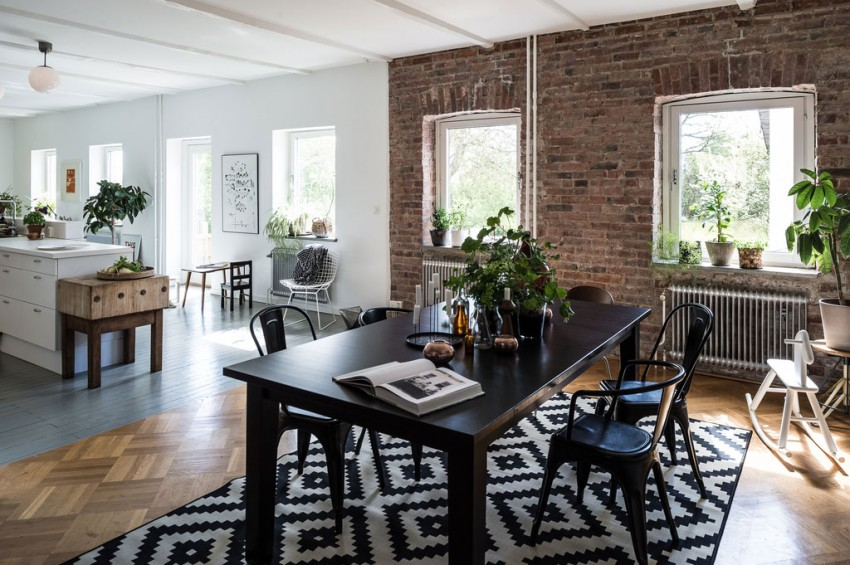 Дизайн интерьера стильного дома