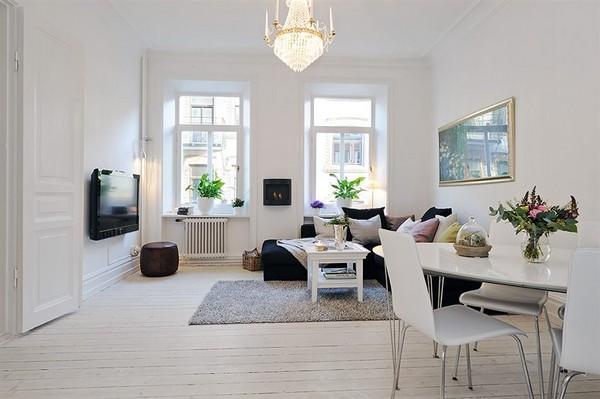 Оформление интерьера в скандинавском стиле