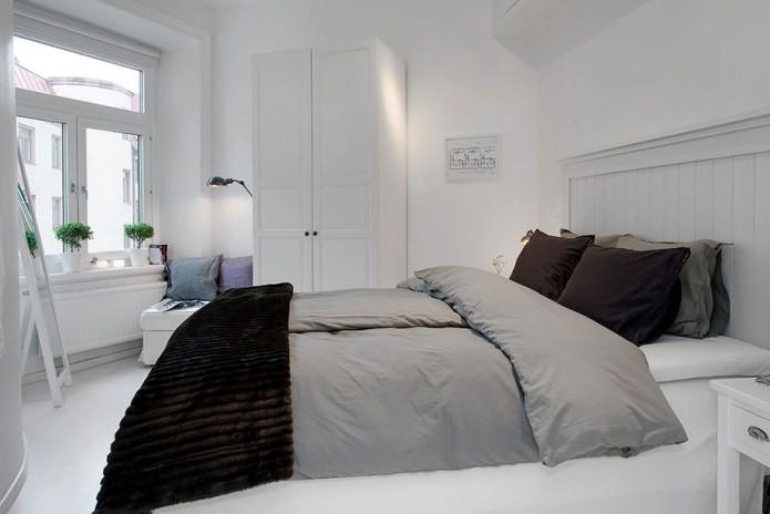 Шикарное оформление спальни