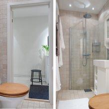 Шикарное оформление ванной комнаты