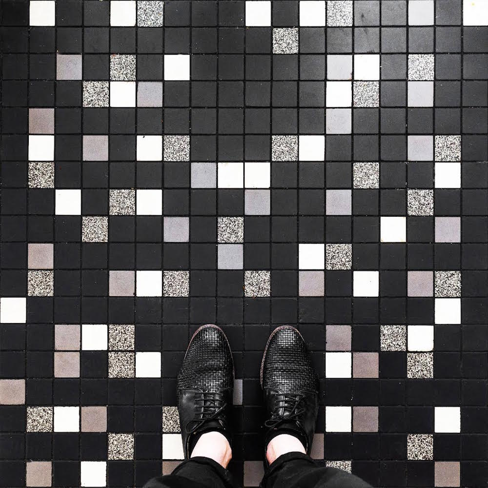 Мозаичные покрытия от Себастьяна Эрраса: коллекция «Парижские полы»