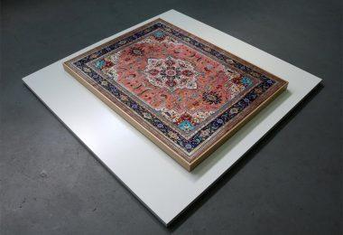 Персидские ковры на живописных полотнах от Джейсона Сейфи