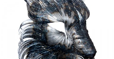 Стальные маски хищных животных от турецкого скульптора Сельчука Йылмаза