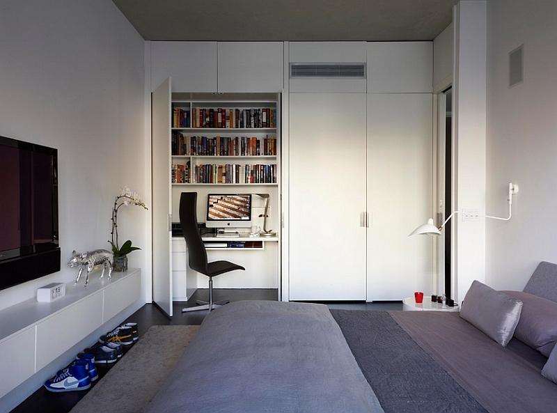 Белоснежный интерьер спальни
