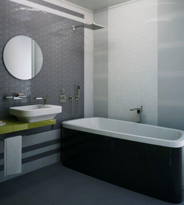 Дизайн ванной в сером цвете: особенности оформления, фото 40