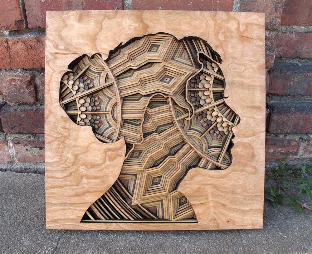 Абстракция и сюрреализм: новые рельефные скульптуры от Габриэля Шамы