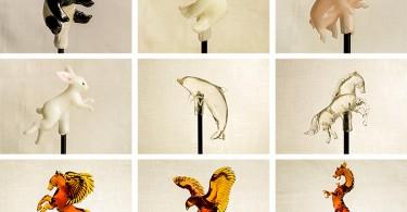 Сладкие скульптуры от Шинри Тэдзука - возрождение древнего ремесла