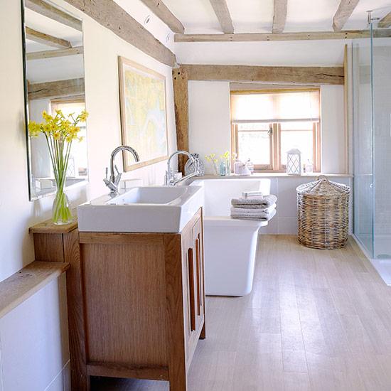 Оригинальный винтажный шкаф для ванной - Фото 1