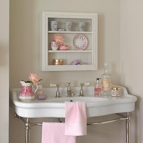 Оригинальный винтажный шкаф для ванной - Фото 5