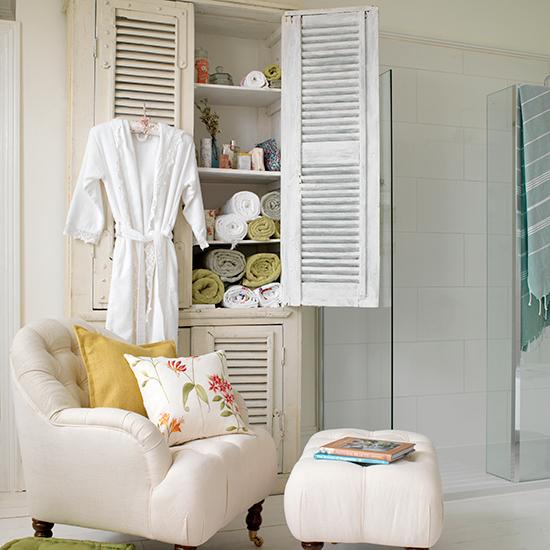 Оригинальный винтажный шкаф для ванной - Фото 6