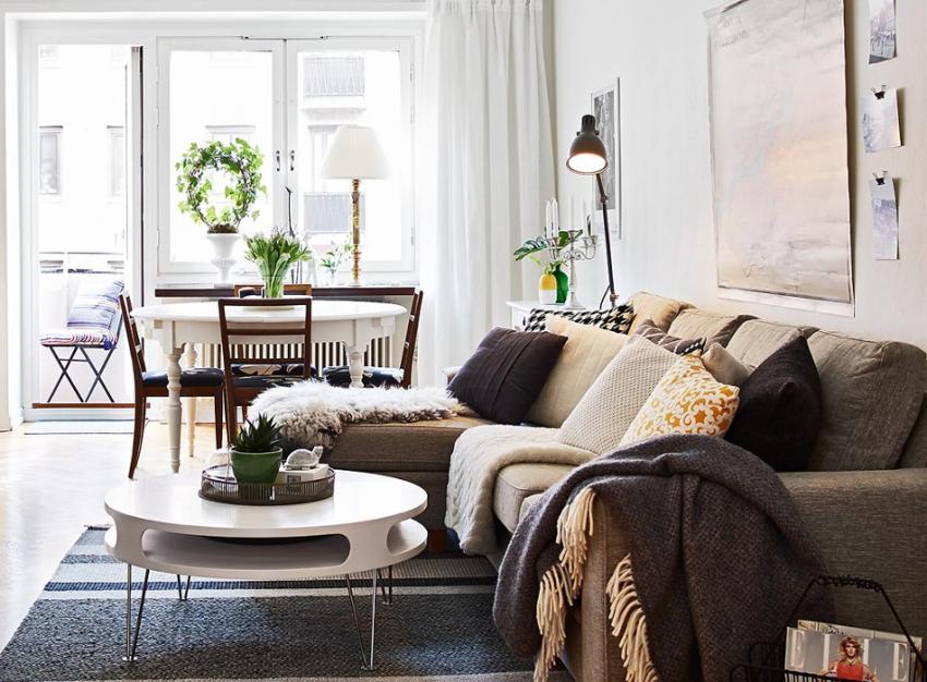 Интерьер квартиры в скандинавском стиле