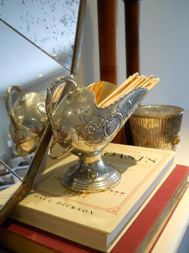 Уникальные серебряные предметы декора в интерьере