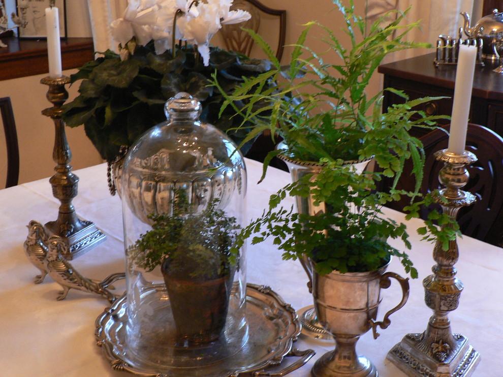 Замечательные серебряные предметы декора в интерьере