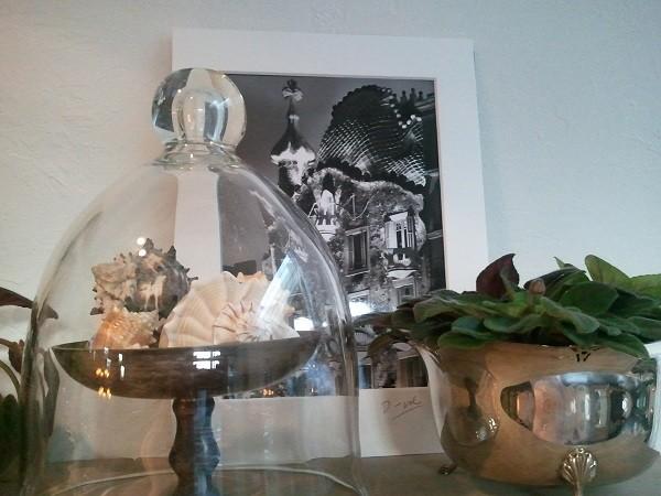 Шикарные серебряные предметы декора в интерьере