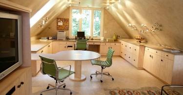 Прекрасный интерьер обеденной зоны на кухне