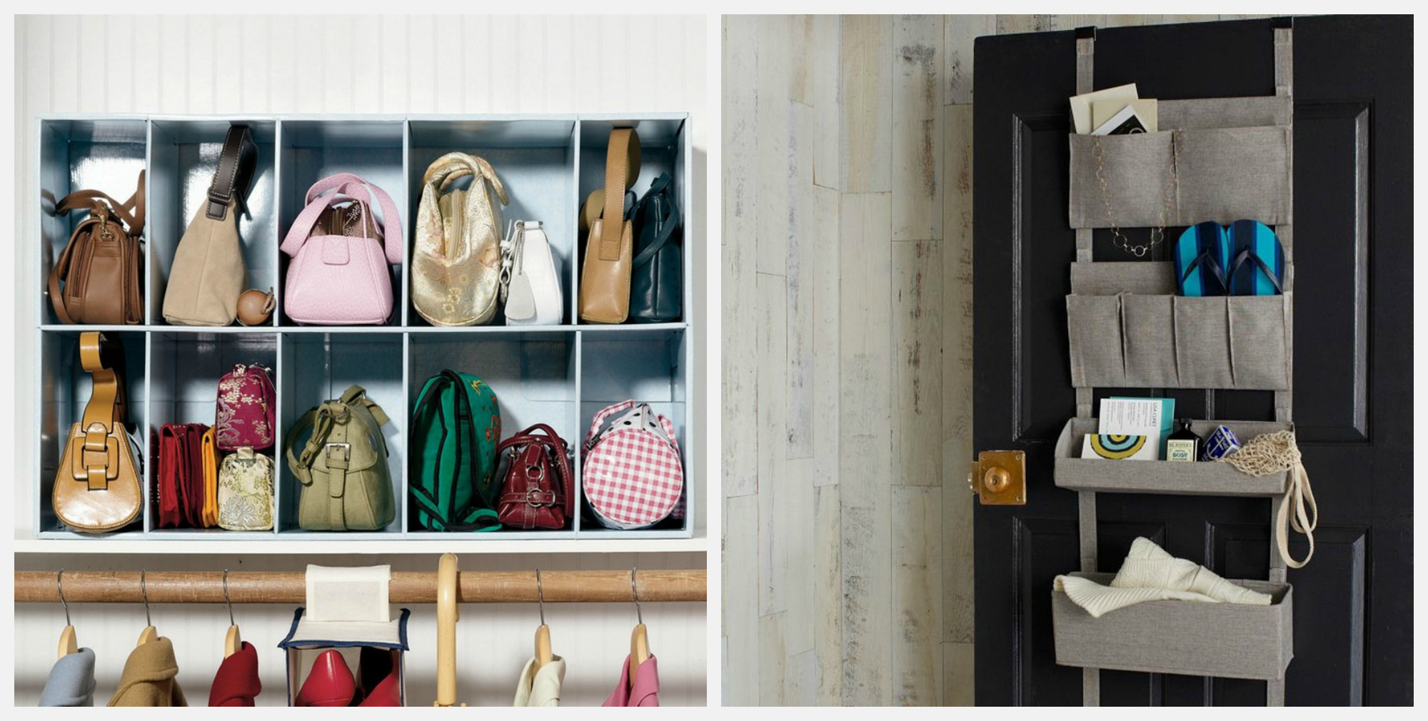 Разнообразные системы хранения для дома