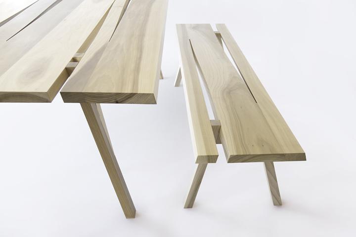 Прекрасные деревянные скамейки от Mike & Maaike for Council