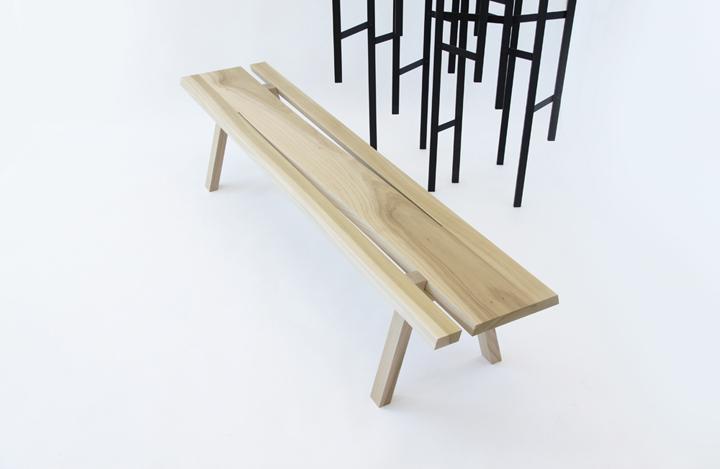 Уникальные деревянная скамейка от Mike & Maaike for Council