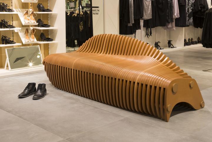 Креативная скамейка от Bilgoray-Pozner