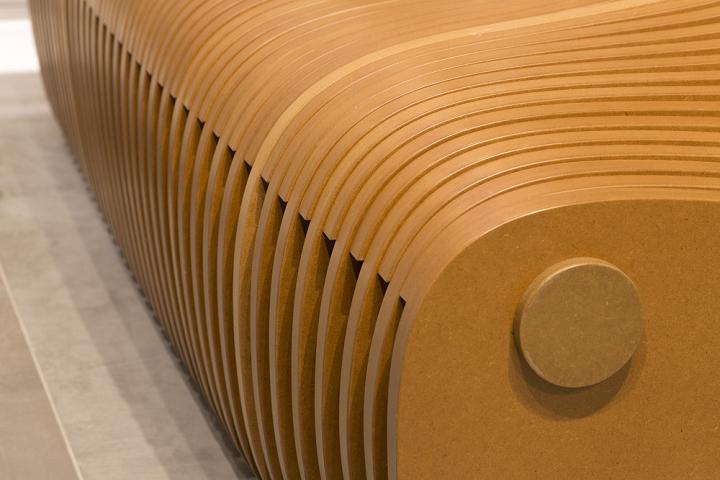 Прекрасная скамейка от Bilgoray-Pozner