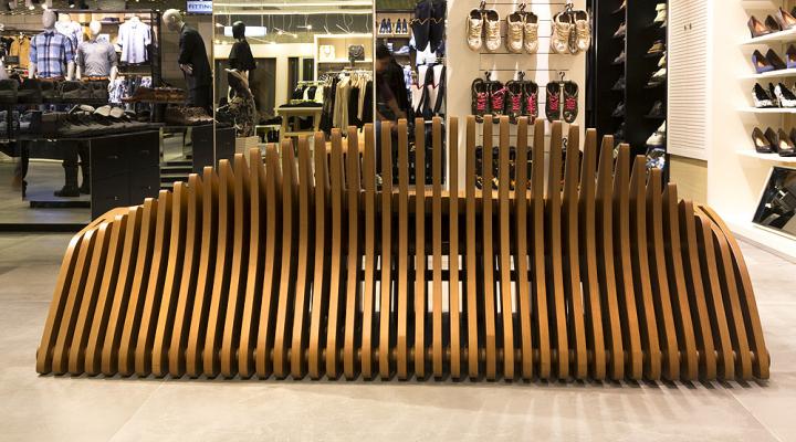 Чудесная скамейка от Bilgoray-Pozner