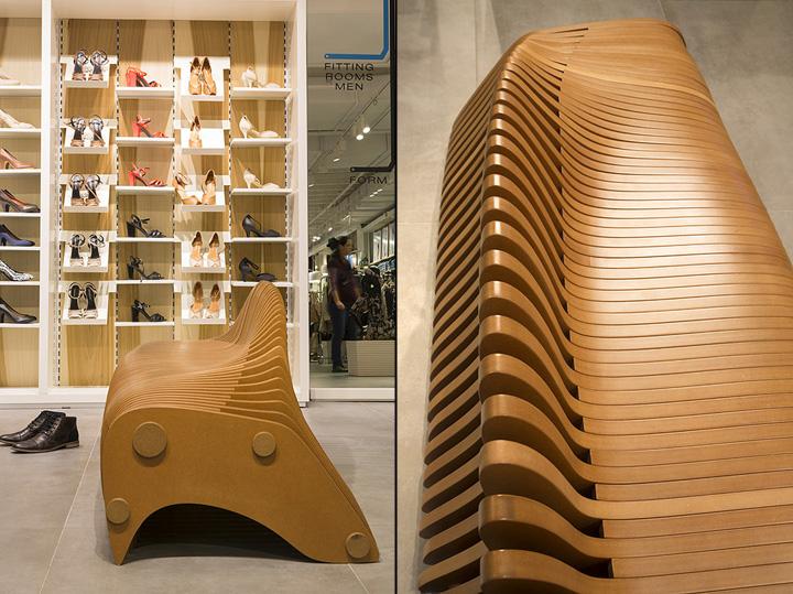 Красивая скамейка от Bilgoray-Pozner