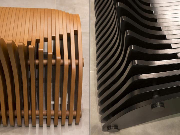 Необычная скамейка от Bilgoray-Pozner