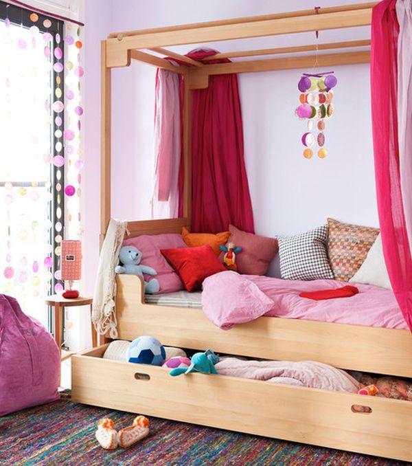 Сногшибательный под кроватный ящик для хранения вещей в спальне