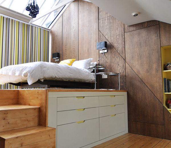 Чудесный под кроватный ящик для хранения вещей в спальне