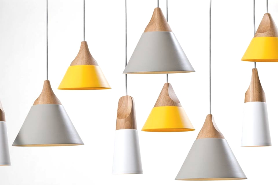 Конические светильники от компании Skrivo