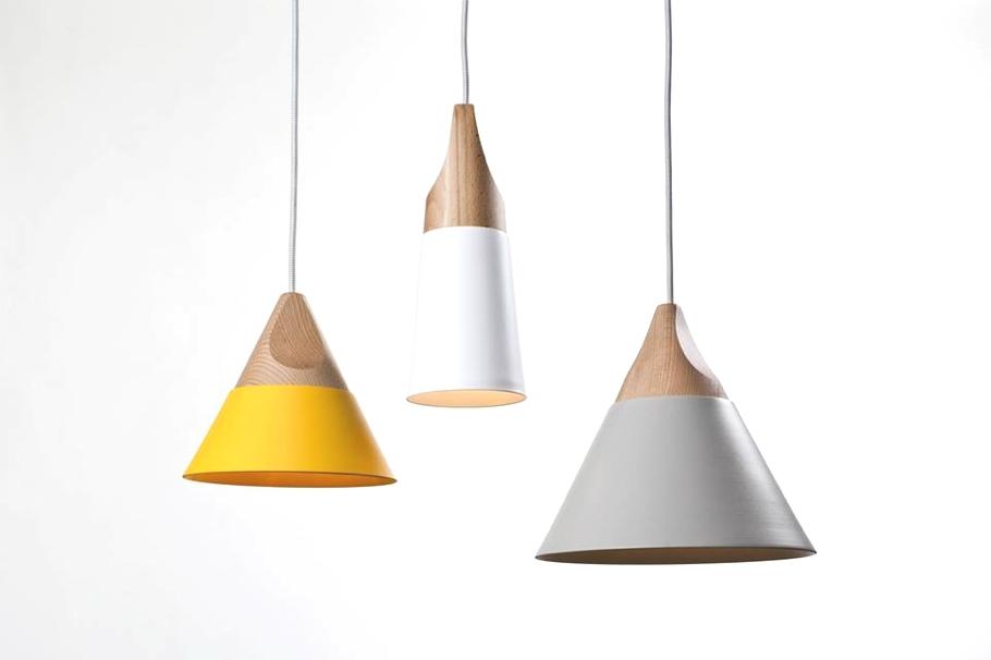 Удивительные конические светильники от компании Skrivo