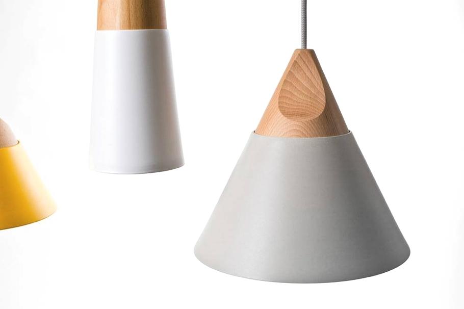 Креативные конические светильники от компании Skrivo